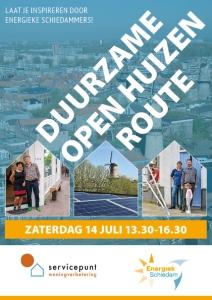 flyer duurzame open huizenroute Schiedam
